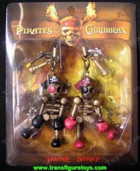 Phone Danglers Pirates of the Caribbean