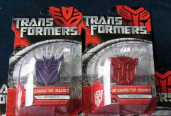 Transformers Movie Collector's Magnet Logos Set of 2