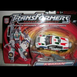 Robots in Disguise R.i.D X-Brawn white Hasbro