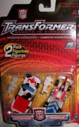 Robots in Disguise R.i.D 2 Pack Ironhide & Mirage
