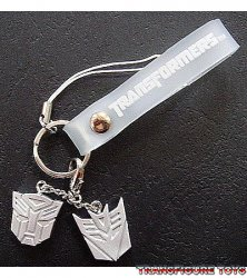 Transformers Movie Logo Phone Dangler (Limited Silver)
