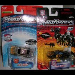 Robots in Disguise R.i.D Spychanger Hot Shot 2 versions