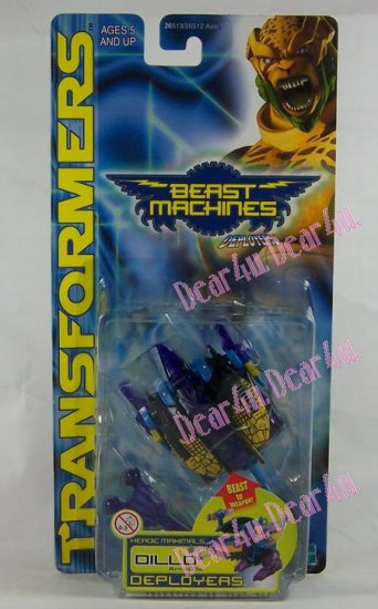 Transformers Beast Machines Oillo - Click Image to Close