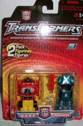 Robots in Disguise R.i.D 2 Pack W.A.R.S. & Crosswise