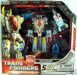 Transformers Universe SUPERION Combiner Set
