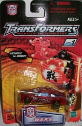 Robots in Disguise R.i.D Spychanger W.A.R.S