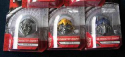 Transformers Movie Collector's Magnet Head Set of 3