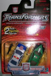 Robots in Disguise R.i.D 2 Pack Prowl 2 & Side Swipe