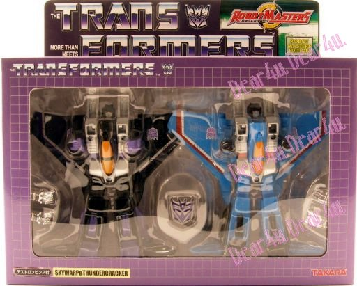 RM-25 Skywarp and Thundercracker