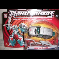 Robots in Disguise R.i.D X-Brawn silver Hasbro