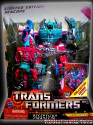 Transformers Seacons Piranacon Limited Edition